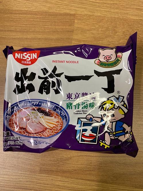 Nissin Instant Noodle Tokyo Shoyu Tonkotsu Flavour