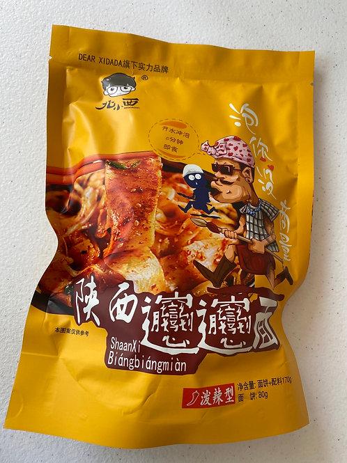 BBX Wide Noodles 170g 北小西冲泡袋装Biangbiang面