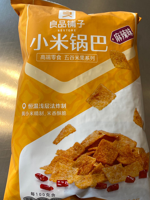 BS Millet Crisp Hot & Spicy 良品铺子小米锅巴
