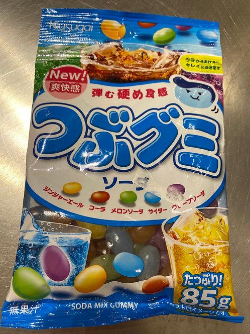 Kasugai Seika & Soda Gummy Candy
