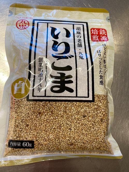 Japanese Kuki Roasted White Sesame 60g