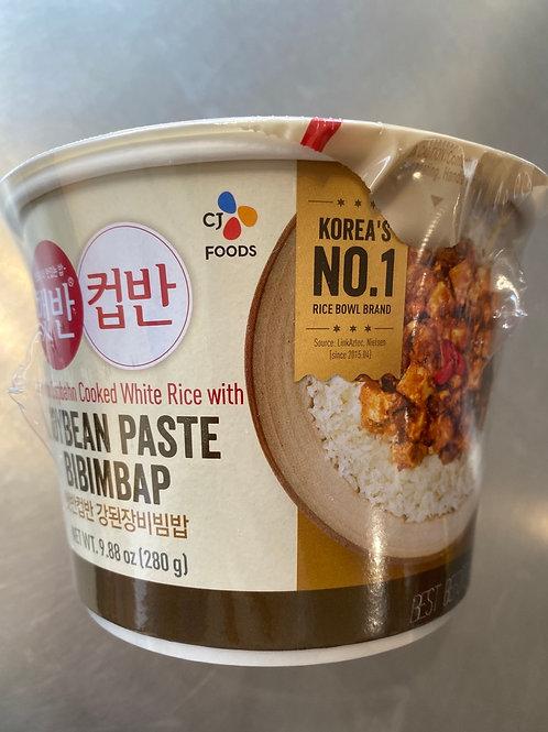 CJ Cooked White Rice With Soybean Paste Bibimbap280g