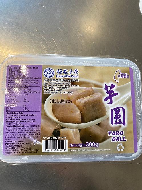 Taiwan Taro Ball 梅花长荣芋圆