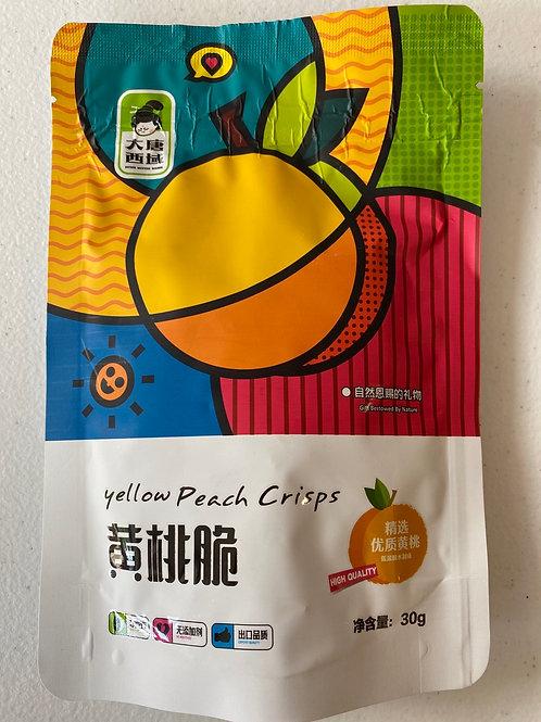 DTR Yellow Peach Crisps 黄桃脆