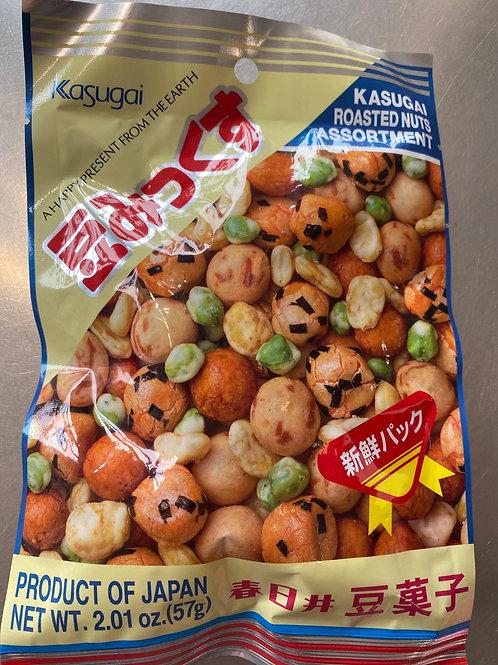 Kasugai Roast Nutd Assortment 春日井豆类小吃 57g