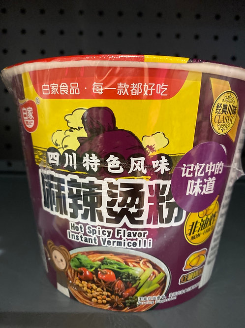 BJ Hot Spicy Flav Instant Sweet Potato Noodle 四川麻辣烫