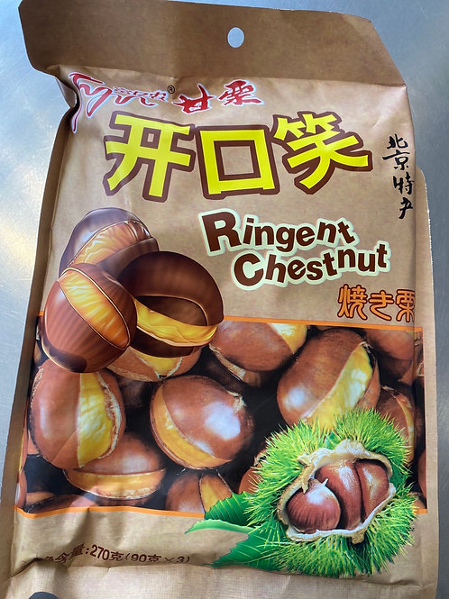 HR Roasted Chestut With Shell 富亿农甘栗开口笑270g