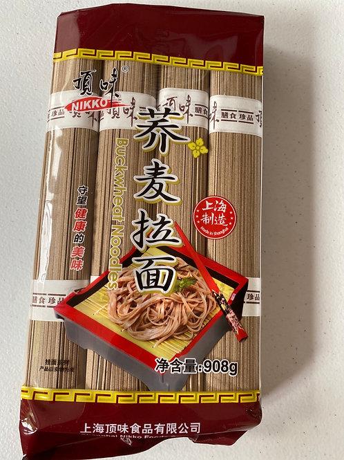 Nikko Buckwheat Noodle (Soba Noodle)荞麦面908g