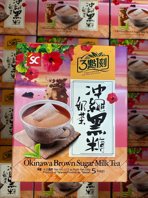 3:15pm Okinawa Brown Sugar Milk Tea