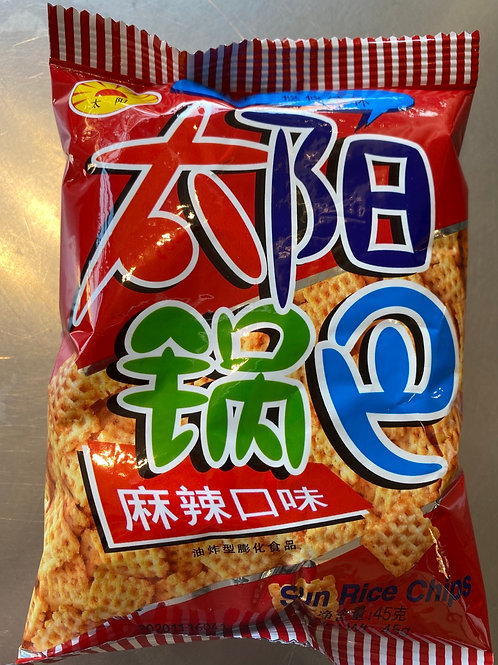 TY Square Biscuit Spicy Flav 太阳锅巴麻辣45g