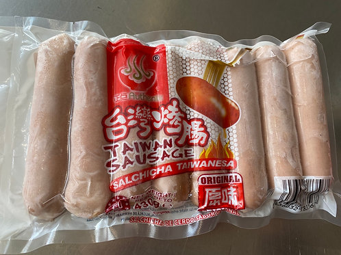 Authentic Taiwan Sausage 430g正点台湾烤肠原味