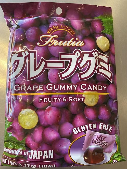 Kasugai Grape Flav Jelly Sweet 春日井制菓葡萄味果糖