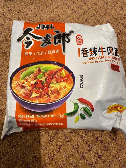 JML Instant Noodle Spicy Beef Flavour