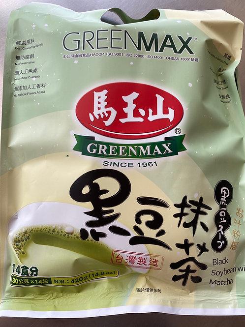 Greenmax Black Soybean Matcha 420g 马玉山黑豆抹茶