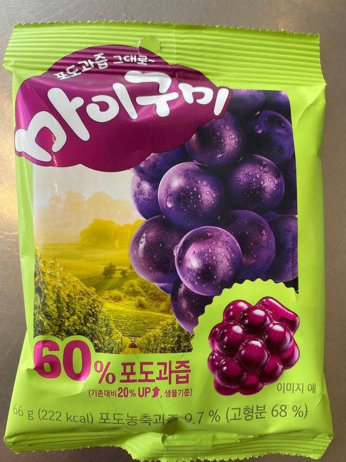 My Gummy Sweet - Grape Flav 66g