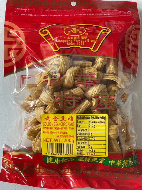 ZF Golden Beancurd Knot正丰黄金豆结200g