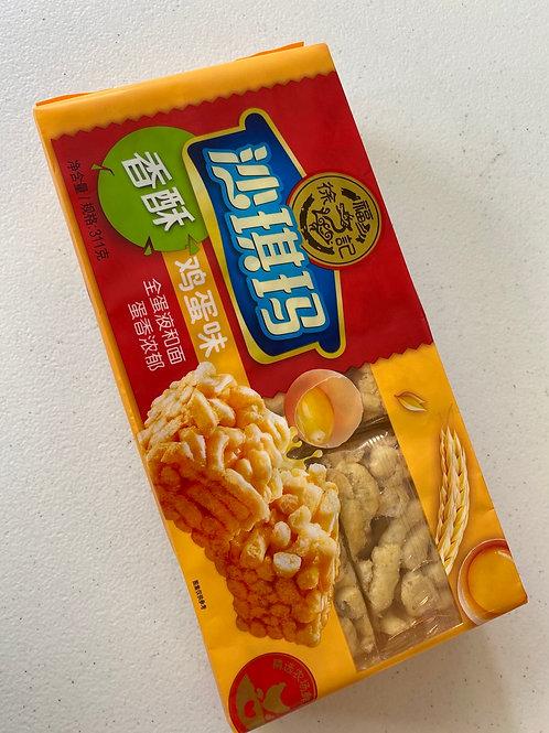 HSU Egg Sichuan徐福記沙其瑪經典雞蛋味311g