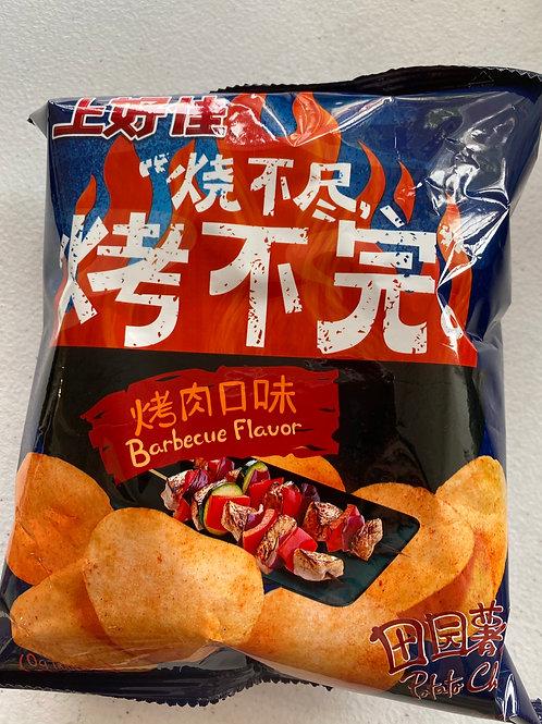 Oishi Potato Chips BBQ Flav 上好佳烤肉味