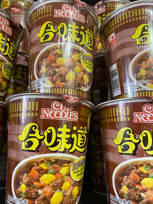 Nissin Cup Beef