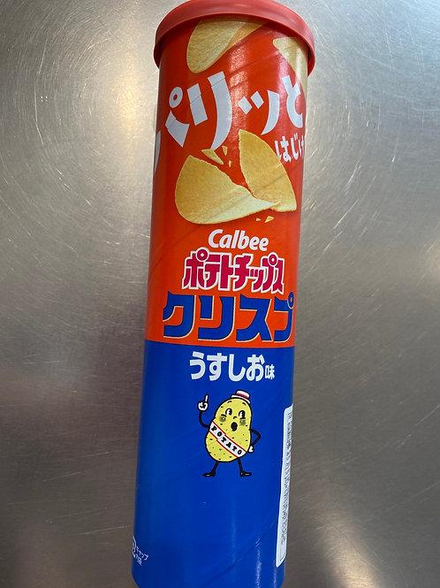 Calbee Chips Sea Salt 卡乐B特别版海盐薯片115g
