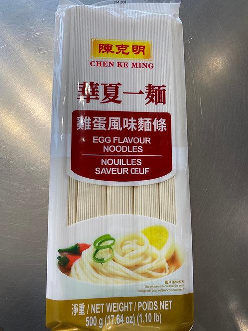 CKM Egg Flav Noodle 500g 陈克明鸡蛋风味面条