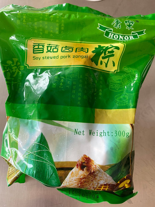 HR Zongzi Glutinous Rice With Soy Stewed Pork香菇滷肉粽子2pcsx150g