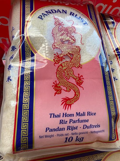 Red Dragon Thai Hom Mali Jasmine Pandan Rice 10kg