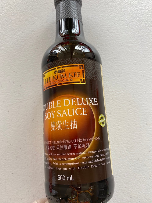 LKK Double Deluxe Soy Sauce 李錦記雙生抽
