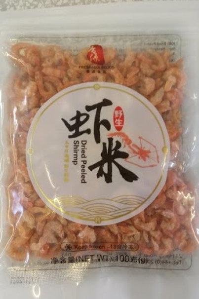 Freshasia Dried Peeled Shirmp 野生虾米
