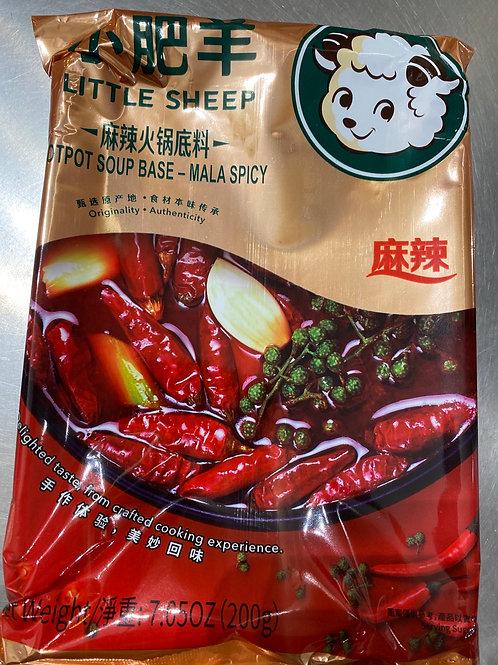 Little Sheep Hot Pot Base Mala Spicy 小肥羊麻辣火锅底料