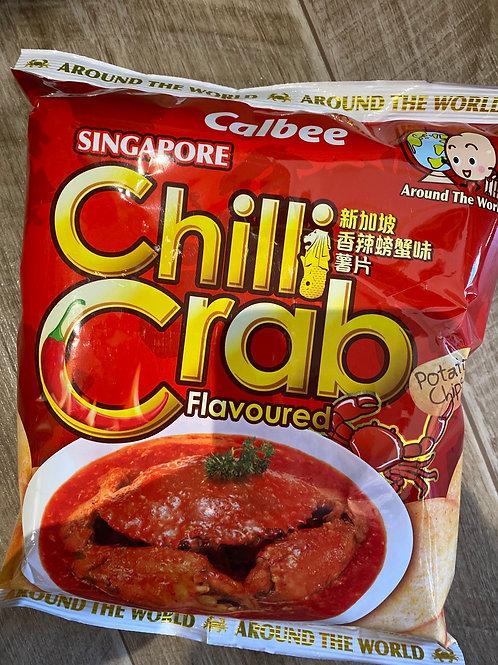 Calbee Chilli Crab Potato Crisps