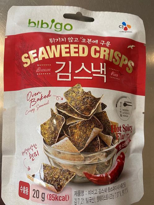 CJ Seaweed Crisps