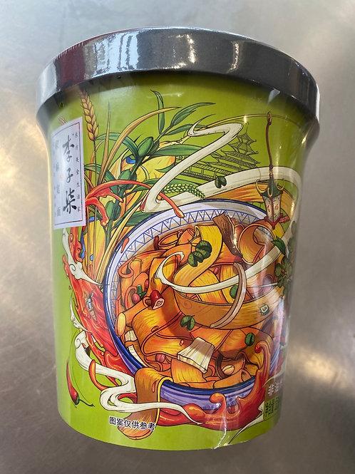 LIZIQI Instant Chilli Noodle 李子柒椒麻宽面 140g