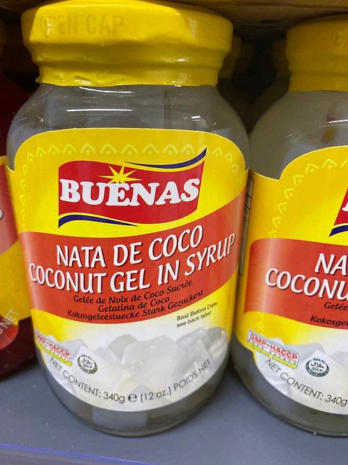 Buenas Nata De Coco Coconut Gel In Syrup