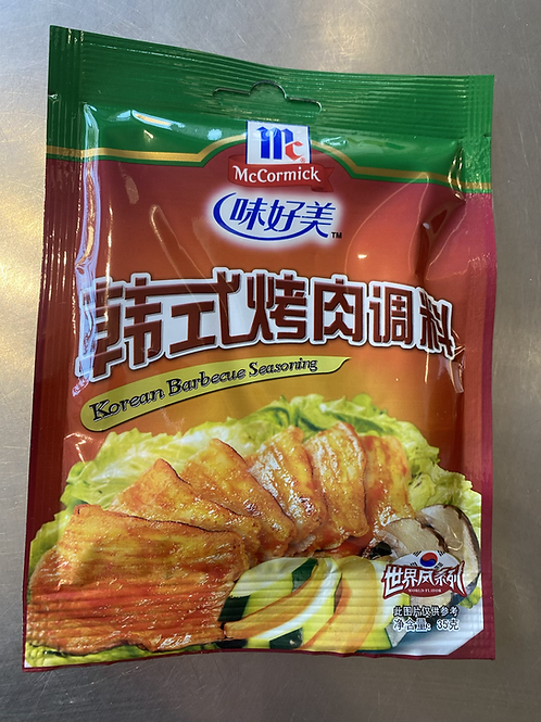 McCormick Korean BBQ Seasoning 韩式烤肉调料35g