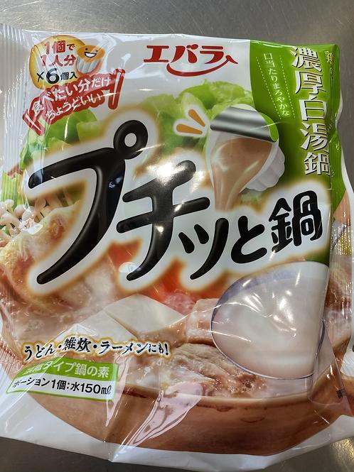 EBARA Foods  Chicken Based JapansesHot Pot Soup 浓厚白汤锅