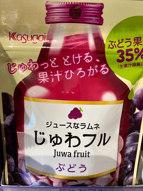 Kasgugai Juwa Fruit Grape Ramune