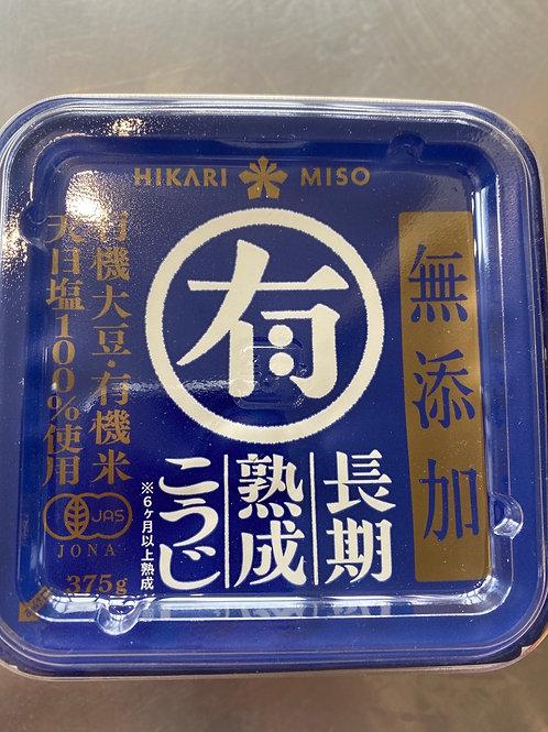 Hikari Miso No Additive Organic Miso 375g 日本无添加有机味噌