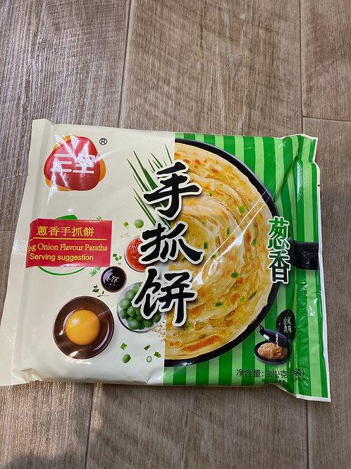 Spring Onion Flav Paratha 手抓饼