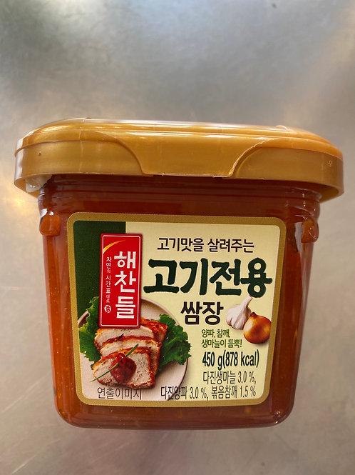 CJ Seasoned Soybean Paste For BBQ 韩国烤肉专用包饭酱450g