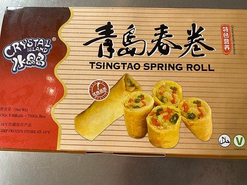 Tisingtao Vegetable Spring Roll 青島素春卷 750g