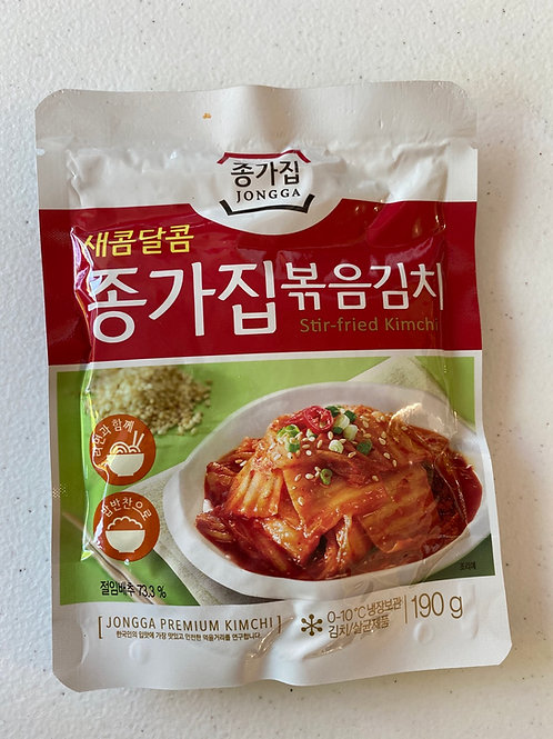Chongga Roasted Kimchi 200g