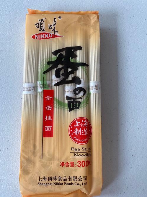 Nikko Egg Stick Noodles 顶味蛋面300g