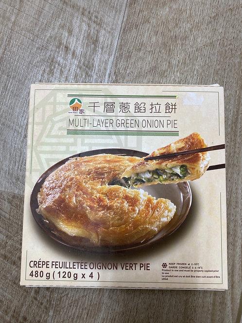 Taiwan Multi Layer Green Onion Pie 台湾千层葱馅拉饼