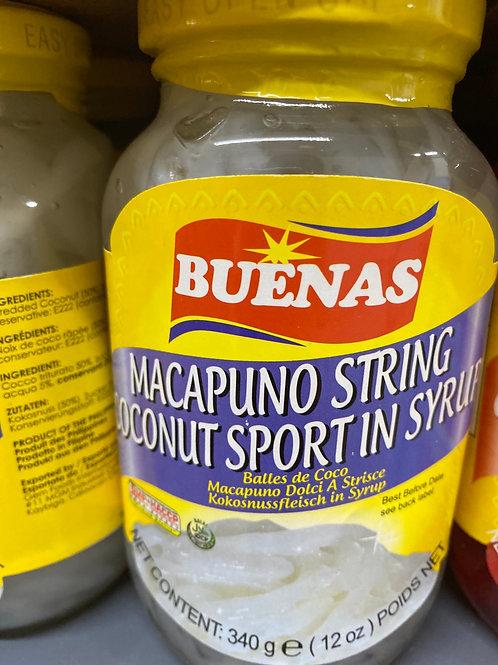 Buenas Macapuno String