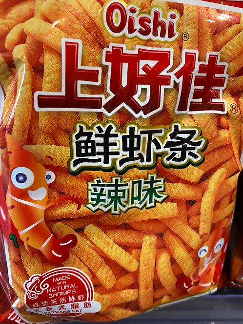 OS Prawn Cracker Chilli 上好佳蝦條辣味 40g
