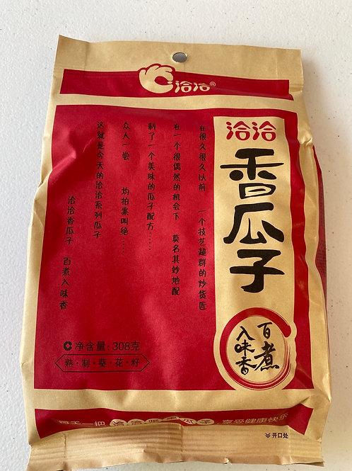 CC Spiced Roasted Sunflower Seeds L 洽洽五香瓜子308g