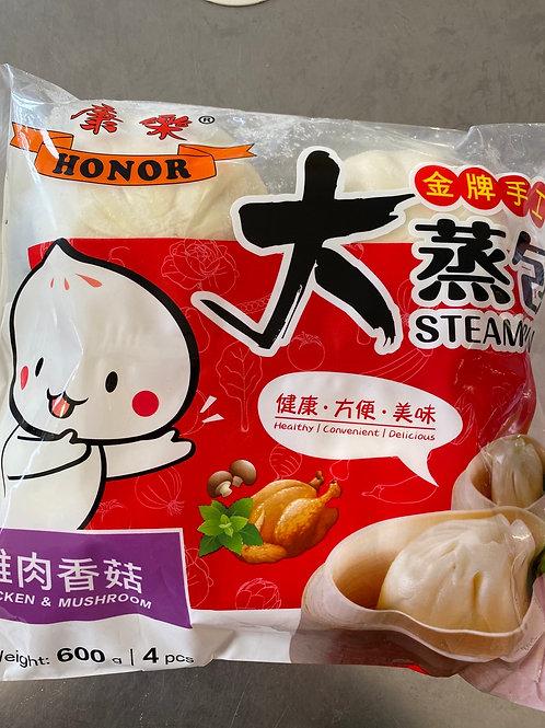 Steam Bun Chicken & Mushroom
