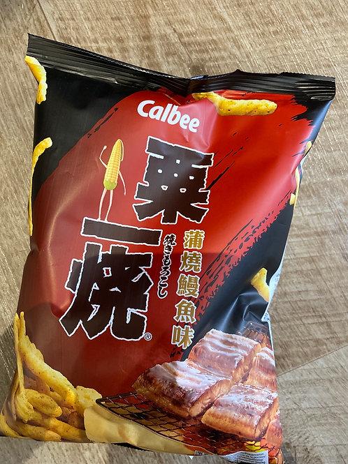 Camber Grill A Corn Eel Kabayaki