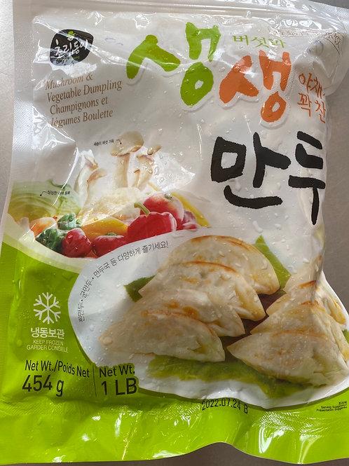 ChoripDong Mushroom & Vegetable Dumpling 454g